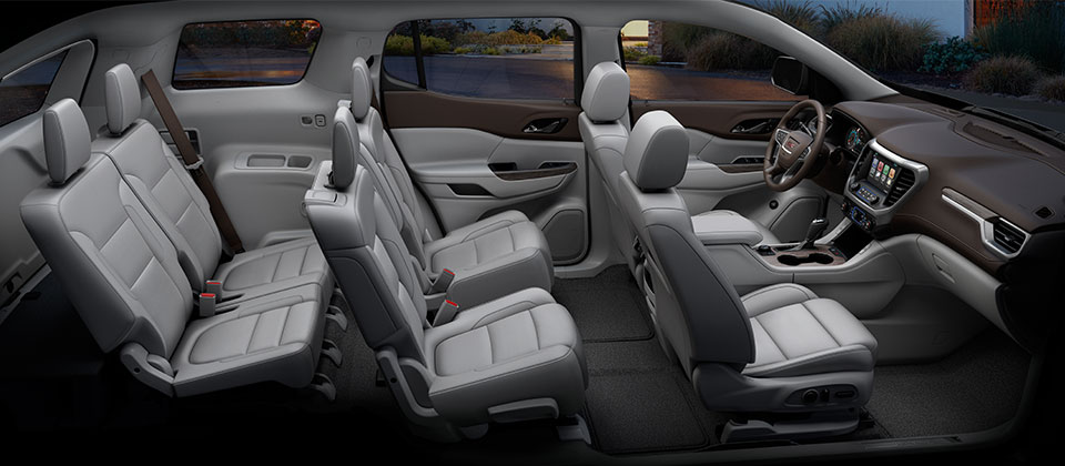 gmc acadia 2018 crossover suv gmc uae. Black Bedroom Furniture Sets. Home Design Ideas