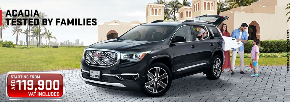 GMC Acadia | Crossovers & SUVs | GMC Arabia